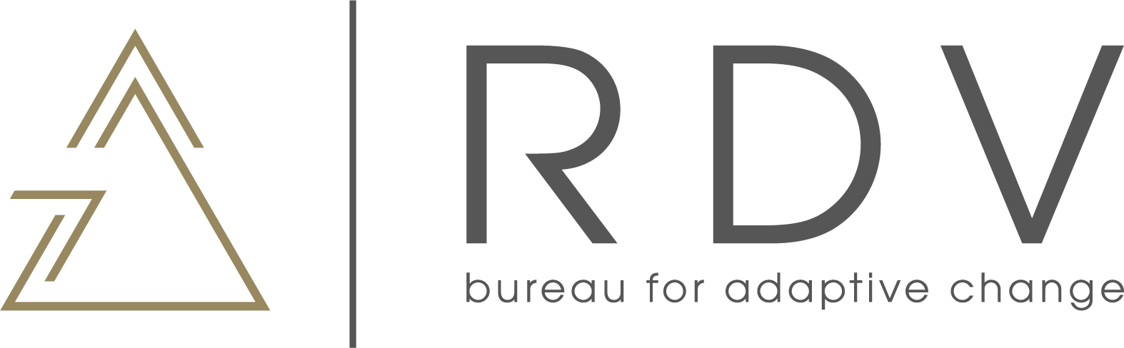 RDV bureau for adaptive change logo